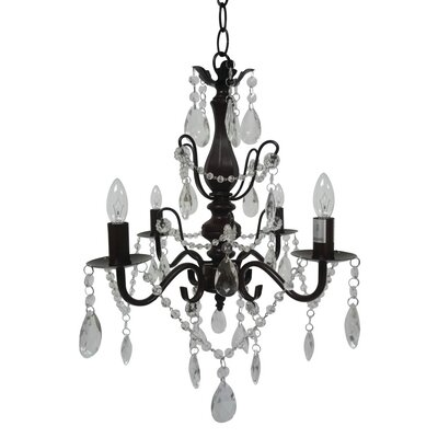 Dunloy 4-Light Candle-Style Chandelier