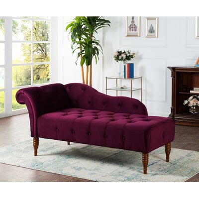 Anthony Tufted Chaise