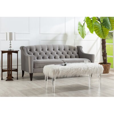 Todmorden Sofa Color: Opal Grey