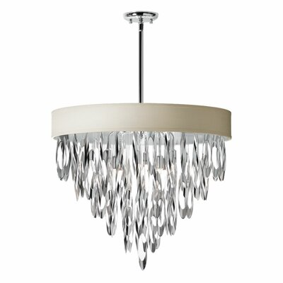 Gowin 8-Light Crystal Chandelier Shade Color: Pebble