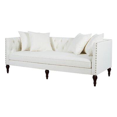 Jackson Chesterfield Sofa Upholstery: Star White