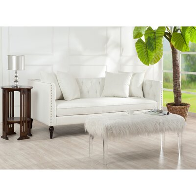 Rales Sofa Color: Star White