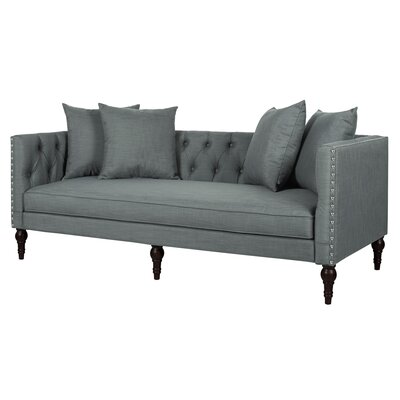 Jackson Chesterfield Sofa Upholstery: Gray