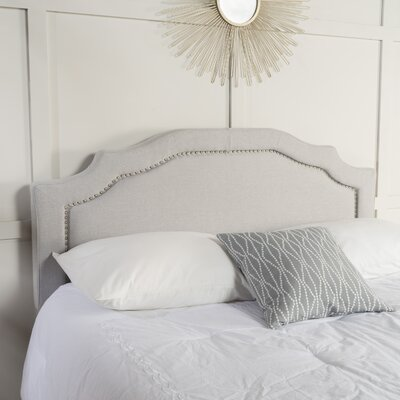 Bayle Full/Queen Upholstered Panel Headboard Upholstery: Light Gray