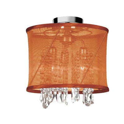 Hackford 3-Light Semi Flush Mount