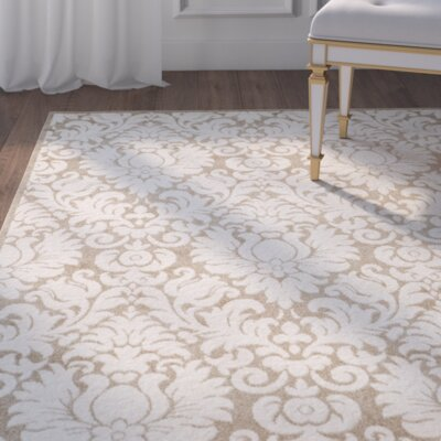 Maritza Wheat/Beige Area Rug Rug Size: Rectangle 10 x 14