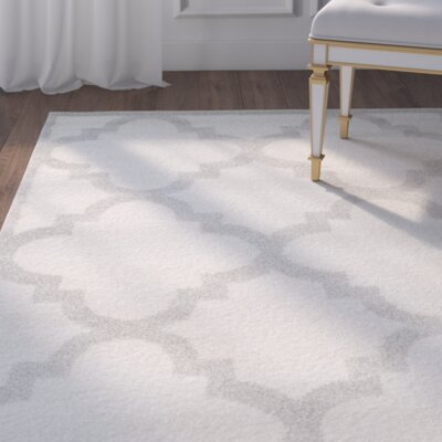 Maritza Beige & Light Gray Indoor/Outdoor Area Rug Rug Size: Rectangle 6 x 9
