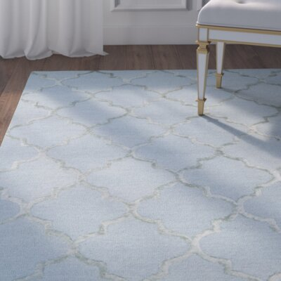 Ruddell Mist Area Rug Rug Size: Rectangle 76 x 96