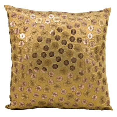 Faucett Throw Pillow Color: Gold