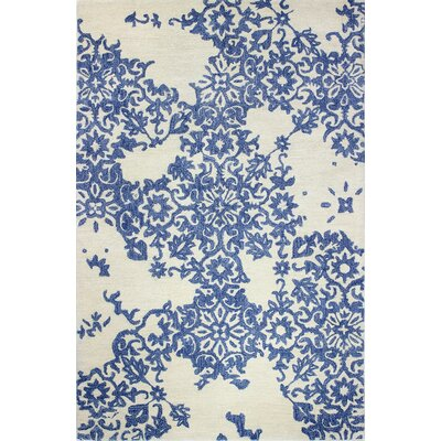 Libramont Hand Tufted Ivory Area Rug Rug Size: 86 x 116