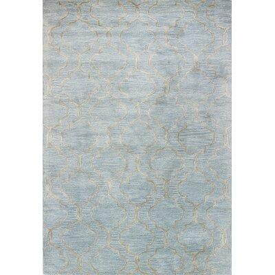 Linslade Hand-Tufted Sky Area Rug Rug Size: 79 x 99