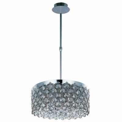 Alvin 5-Light Pendant Size: 8 H x 19.5 W