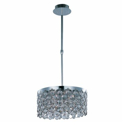 Alvin 5-Light Pendant Size: 8 H  x 14 W