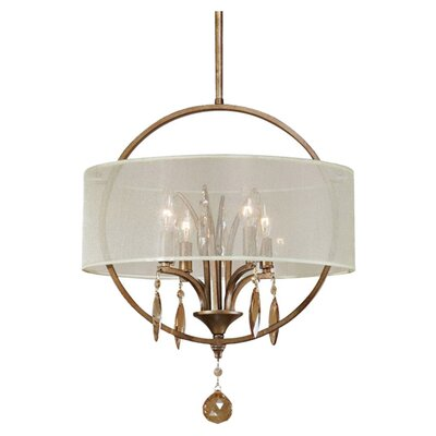 Brookville 4-Light Drum Pendant