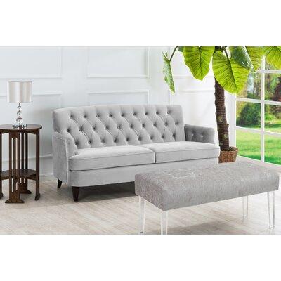 Kaylynn Sofa Upholstery: Opal Grey