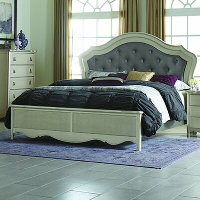 Renato Upholstered Panel Bed Size: Queen