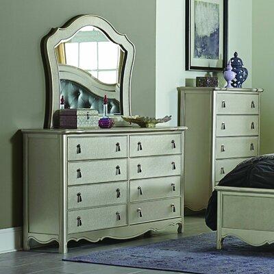 Renato 8 Drawer Dresser with Mirror