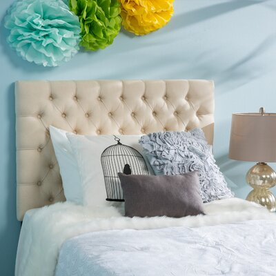 Jarrett Twin Upholstered Panel Headboard