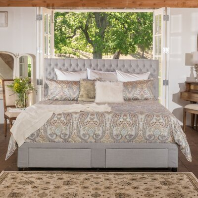 Jarrett Storage Panel Bed Size: Queen