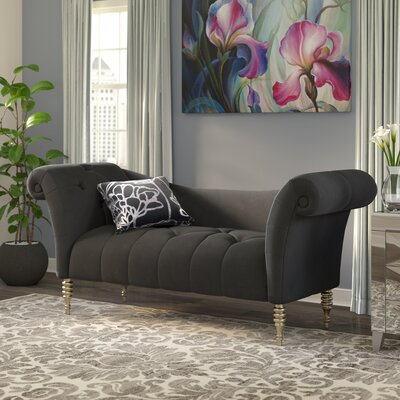 Fordwich Chaise Lounge in Black