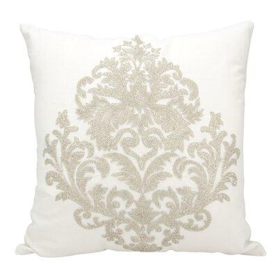 Edenbridge Cotton Throw Pillow Color: Silver