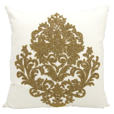 Edenbridge Cotton Throw Pillow Color: Bronze