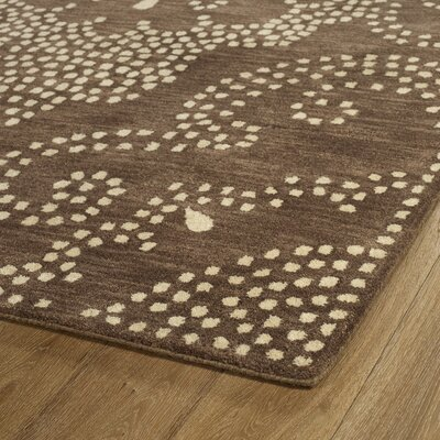 Bashford Hand Tufted Brown/Beige Area Rug Rug Size: Runner 26 x 8