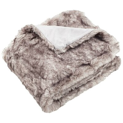 Ostende Faux Fur Throw