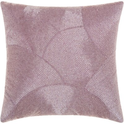 Sharonda 100% Cotton Throw Pillow Color: Lavender