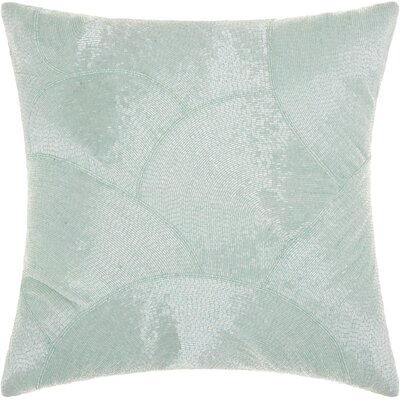 Sharonda 100% Cotton Throw Pillow Color: Celadon