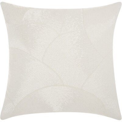 Sharonda 100% Cotton Throw Pillow Color: White