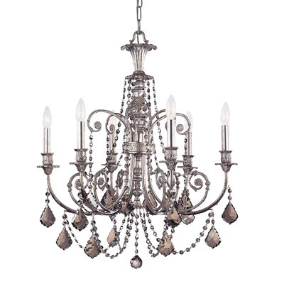 Frida 1-Light Crystal Chandelier