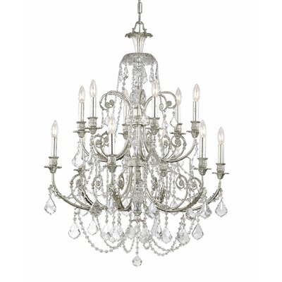 Frida 12-Light Crystal Chandelier