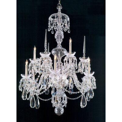 Careen 9-Light Crystal Chandelier
