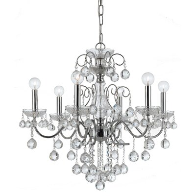 Axton 6-Light Crystal Chandelier