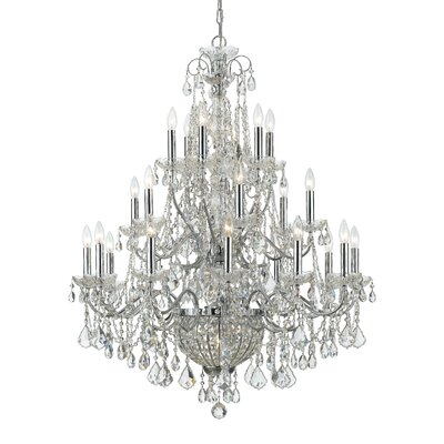 Axton 26-Light Crystal Chandelier