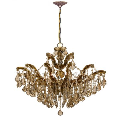 Griffiths 6-Light Crystal Chandelier Crystal Grade: Swarovski Elements