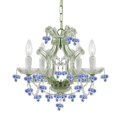 Griffiths 4-Light Crystal Chandelier