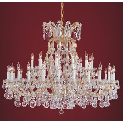 Griffiths 36-Light Crystal Chandelier