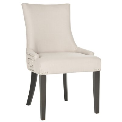 Mcdaniel Upholstered Wood Side Chair Upholstery: Antique Beige