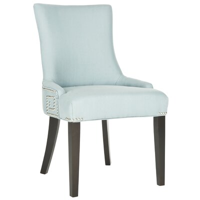 Holloway Side Chair Upholstery: Light Blue