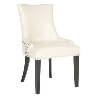 Holloway Side Chair Upholstery: Flat Cream