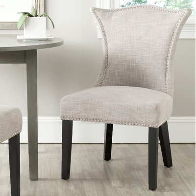 Mcdaniel Upholstered Side Chair Upholstery: Gray