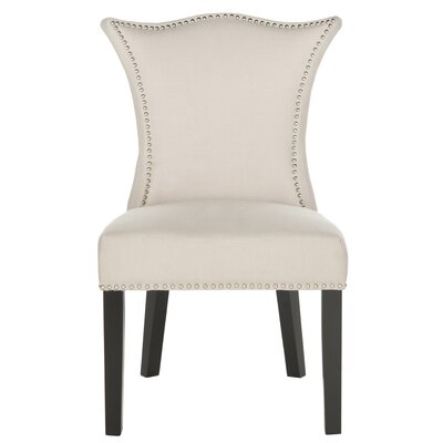 Mcdaniel Upholstered Side Chair Upholstery: Taupe