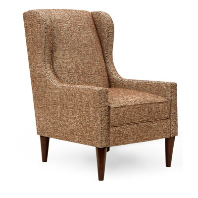Rockport Wingback Arm Chair Upholstery Color: Mesa