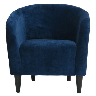 Sabio Barrel Chair Upholstery: Elizabeth Royal Blue