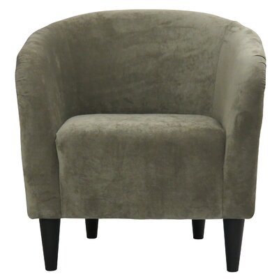 Sabio Barrel Chair Upholstery: Elizabeth Platinum