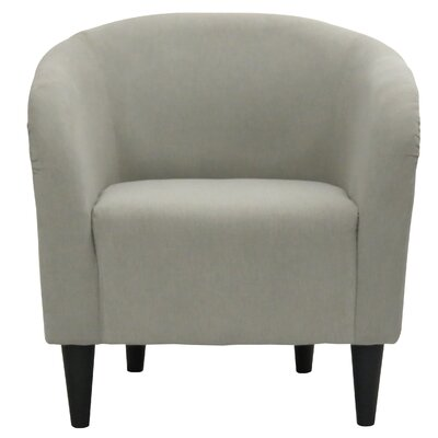 Sabio Barrel Chair Upholstery: Taupe