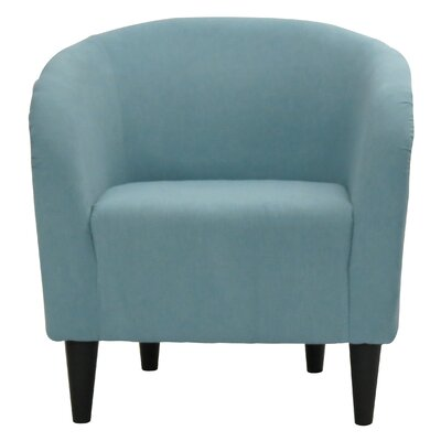 Sabio Barrel Chair Upholstery: Twighlight Blue