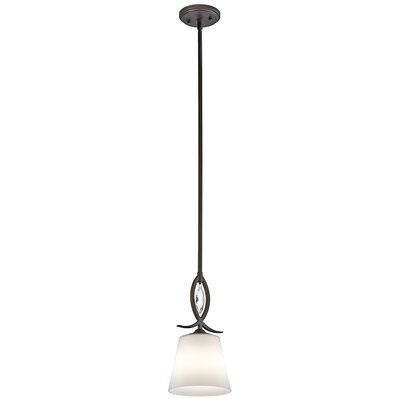 Brookline 1-Light Mini Pendant Finish: Olde Bronze